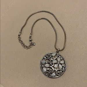 Brighton silvertone necklace